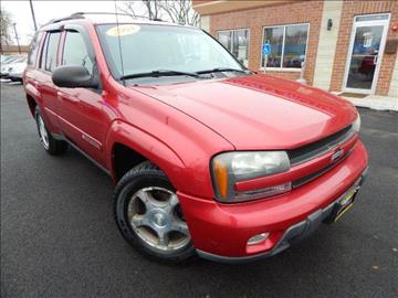 2004 Chevrolet TrailBlazer for sale at Luxury Motors Credit Inc in Bridgeview IL
