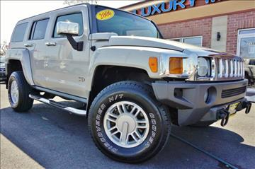 2006 HUMMER H3 for sale at Luxury Motors Credit Inc in Bridgeview IL