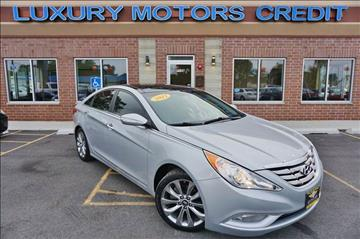 2012 Hyundai Sonata for sale at Luxury Motors Credit Inc in Bridgeview IL