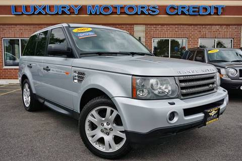 2007 Land Rover Range Rover Sport for sale at Luxury Motors Credit Inc in Bridgeview IL