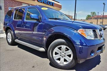 2007 Nissan Pathfinder for sale at Luxury Motors Credit Inc in Bridgeview IL
