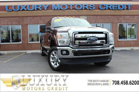 2011 ford f 250 super duty for sale in illinois for Luxury motors bridgeview il