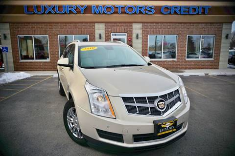2010 Cadillac SRX for sale at Luxury Motors Credit Inc in Bridgeview IL
