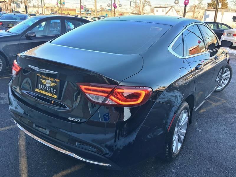 2015 Chrysler 200 Limited 4dr Sedan In Bridgeview Il