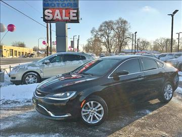 2015 Chrysler 200 for sale at Luxury Motors Credit Inc in Bridgeview IL