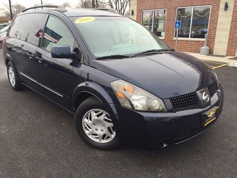 2005 Nissan Quest for sale at Luxury Motors Credit Inc in Bridgeview IL