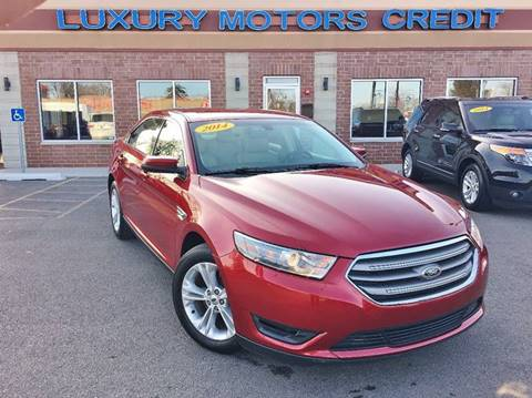 2014 Ford Taurus for sale at Luxury Motors Credit Inc in Bridgeview IL