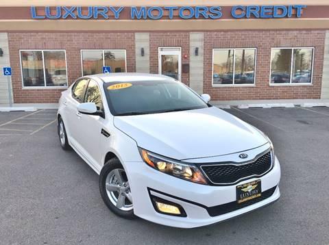 2015 Kia Optima for sale at Luxury Motors Credit Inc in Bridgeview IL