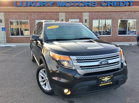 2014 Ford Explorer for sale at Luxury Motors Credit Inc in Bridgeview IL