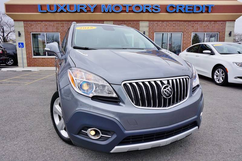 2015 buick encore convenience 4dr crossover in bridgeview for Luxury motors bridgeview il