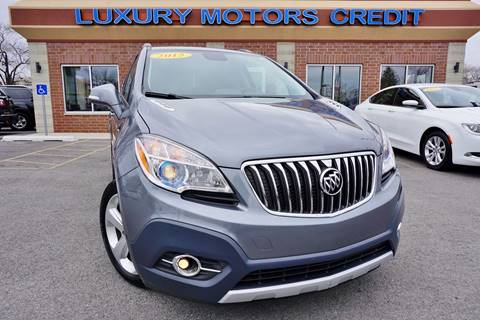 2015 Buick Encore for sale at Luxury Motors Credit Inc in Bridgeview IL