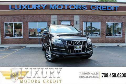 2012 Audi Q7 for sale at Luxury Motors Credit Inc in Bridgeview IL