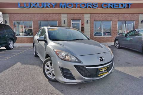 2010 Mazda MAZDA3 for sale at Luxury Motors Credit Inc in Bridgeview IL
