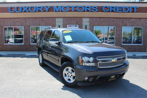 2010 Chevrolet Tahoe for sale at Luxury Motors Credit Inc in Bridgeview IL