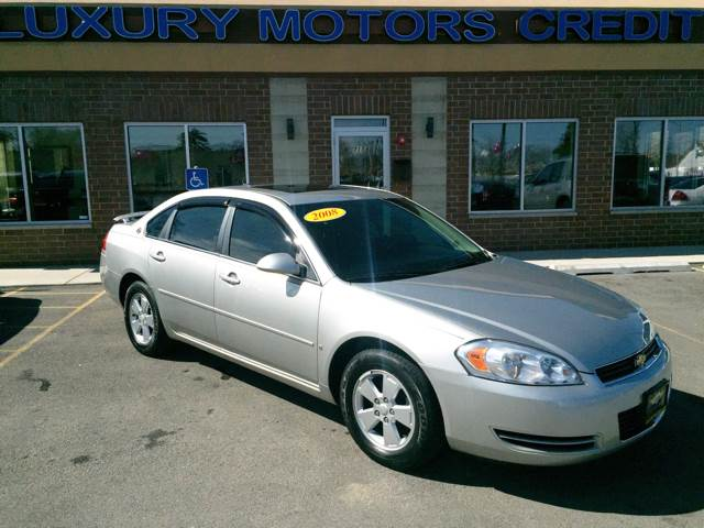 2008 Chevrolet Impala for sale at Luxury Motors Credit Inc in Bridgeview IL