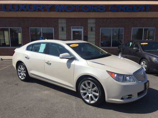 2010 Buick LaCrosse for sale at Luxury Motors Credit Inc in Bridgeview IL