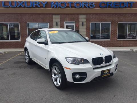 2011 BMW X6 for sale at Luxury Motors Credit Inc in Bridgeview IL