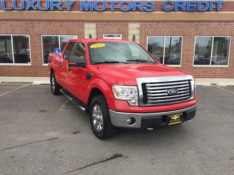 2010 Ford F-150 for sale at Luxury Motors Credit Inc in Bridgeview IL