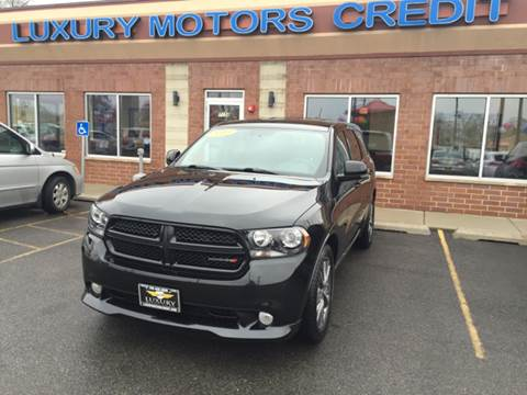 2013 Dodge Durango for sale at Luxury Motors Credit Inc in Bridgeview IL