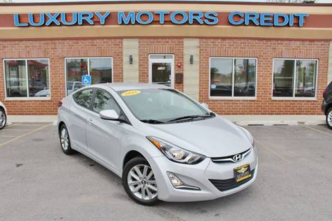 2015 Hyundai Elantra for sale at Luxury Motors Credit Inc in Bridgeview IL
