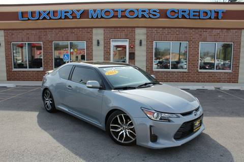 2014 Scion tC for sale at Luxury Motors Credit Inc in Bridgeview IL