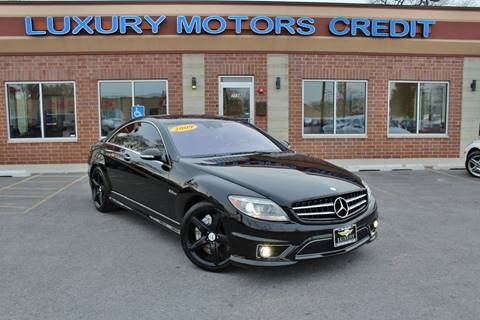 2009 Mercedes-Benz CL-Class for sale at Luxury Motors Credit Inc in Bridgeview IL