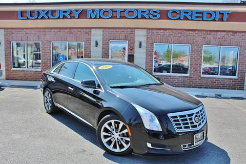 2014 Cadillac XTS for sale at Luxury Motors Credit Inc in Bridgeview IL