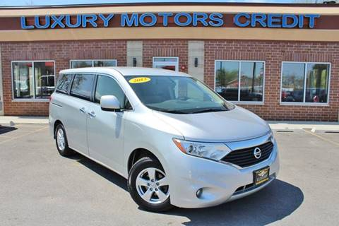 2013 Nissan Quest for sale at Luxury Motors Credit Inc in Bridgeview IL
