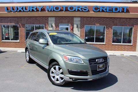 2007 Audi Q7 for sale at Luxury Motors Credit Inc in Bridgeview IL