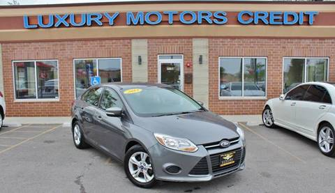 2013 Ford Focus for sale at Luxury Motors Credit Inc in Bridgeview IL