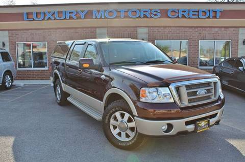 2008 Ford F-150 for sale at Luxury Motors Credit Inc in Bridgeview IL