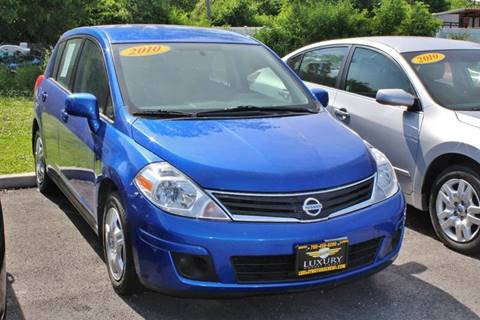 2010 Nissan Versa for sale at Luxury Motors Credit Inc in Bridgeview IL