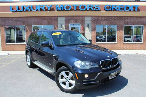2008 BMW X5 for sale at Luxury Motors Credit Inc in Bridgeview IL