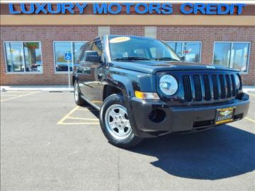 2008 Jeep Patriot for sale at Luxury Motors Credit Inc in Bridgeview IL