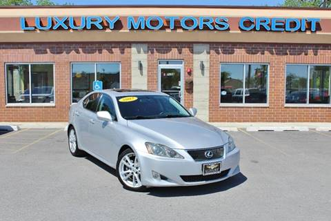 2007 Lexus IS 250 for sale at Luxury Motors Credit Inc in Bridgeview IL