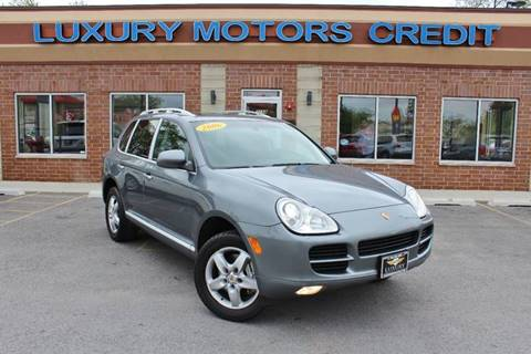 2006 Porsche Cayenne for sale at Luxury Motors Credit Inc in Bridgeview IL