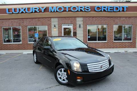 2007 Cadillac CTS for sale at Luxury Motors Credit Inc in Bridgeview IL