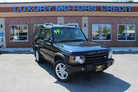 1999 Land Rover Discovery for sale at Luxury Motors Credit Inc in Bridgeview IL
