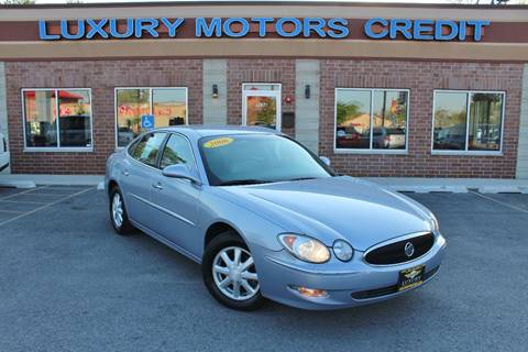 2006 Buick LaCrosse for sale at Luxury Motors Credit Inc in Bridgeview IL