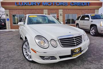 2007 Mercedes-Benz E-Class for sale at Luxury Motors Credit Inc in Bridgeview IL