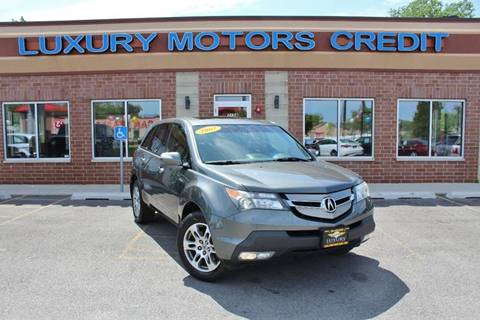 2007 Acura MDX for sale at Luxury Motors Credit Inc in Bridgeview IL