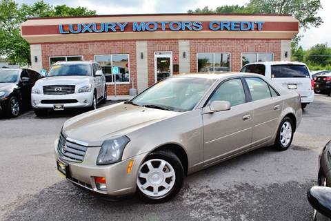 2003 Cadillac CTS for sale at Luxury Motors Credit Inc in Bridgeview IL