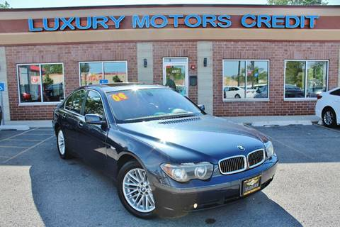2004 BMW 7 Series for sale at Luxury Motors Credit Inc in Bridgeview IL