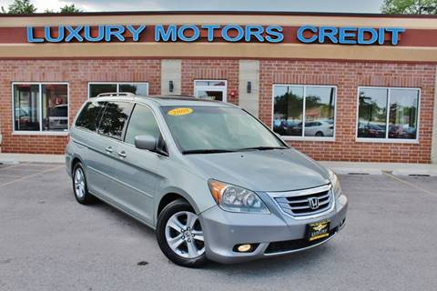 2008 Honda Odyssey for sale at Luxury Motors Credit Inc in Bridgeview IL