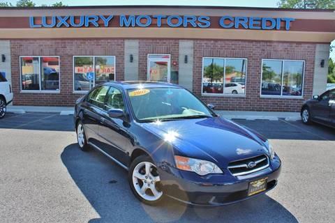 2007 Subaru Legacy for sale at Luxury Motors Credit Inc in Bridgeview IL