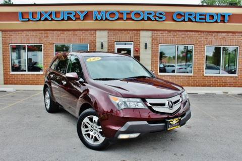 2008 Acura MDX for sale at Luxury Motors Credit Inc in Bridgeview IL