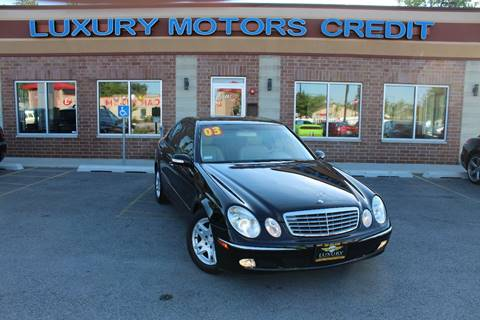 2003 Mercedes-Benz E-Class for sale at Luxury Motors Credit Inc in Bridgeview IL