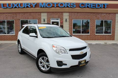 2011 Chevrolet Equinox for sale at Luxury Motors Credit Inc in Bridgeview IL