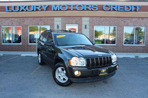 2006 Jeep Grand Cherokee for sale at Luxury Motors Credit Inc in Bridgeview IL