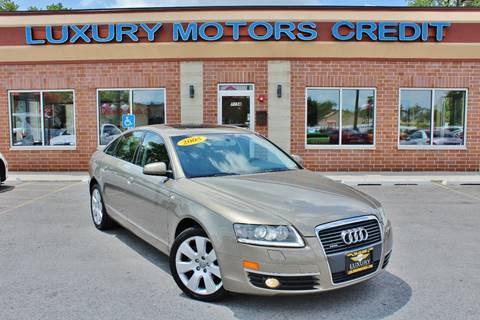 2005 Audi A6 for sale at Luxury Motors Credit Inc in Bridgeview IL